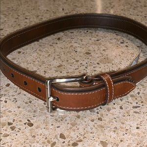 Boys nautica brown belt
